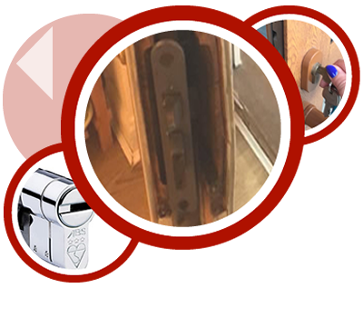 Burglary repair by North Harrow locksmith