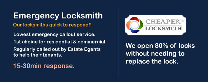 Low cost emergency Locksmith in Cubitt Town